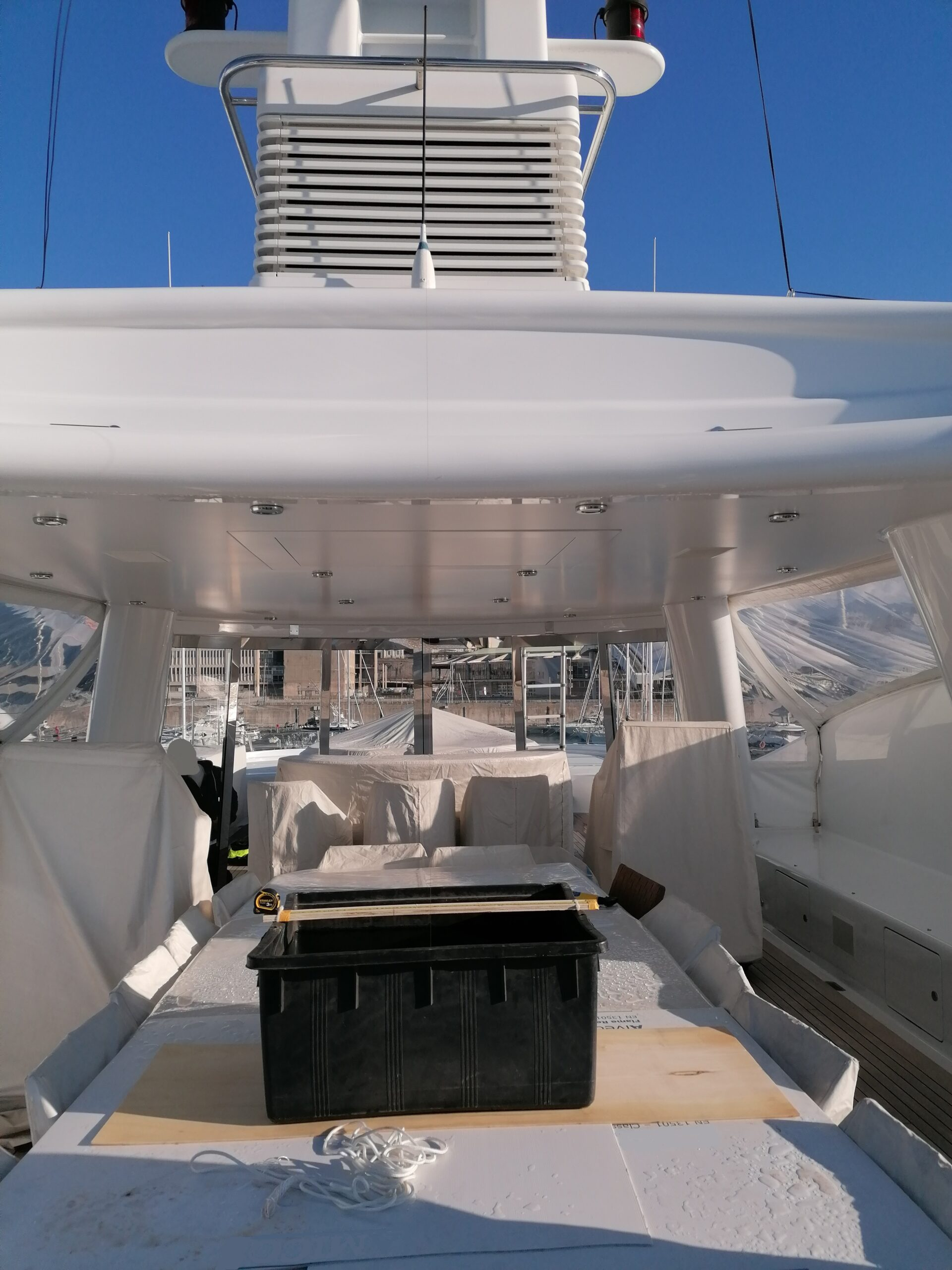 LIGHT SHIP SURVEY & INCLINING TESTS